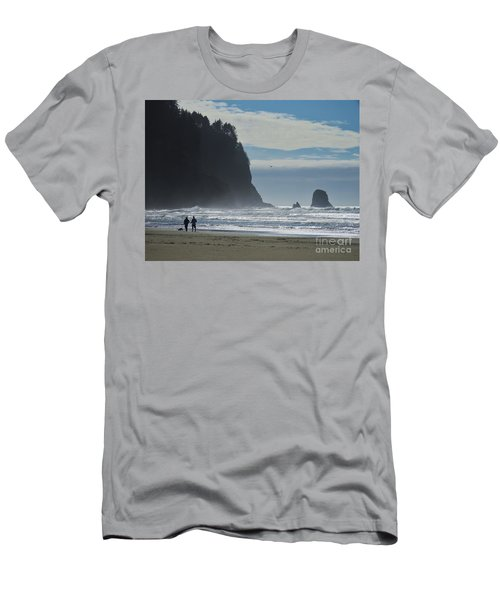 Cape Meares Men's T-Shirt (Athletic Fit)