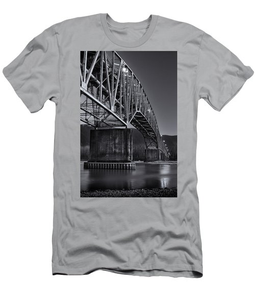 Agassiz-rosedale Bridge Men's T-Shirt (Athletic Fit)