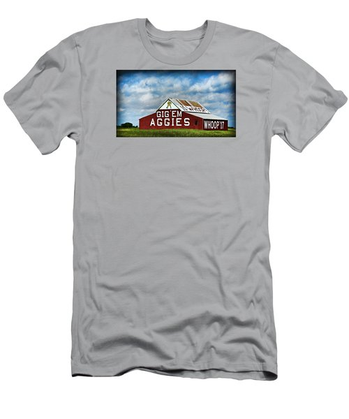Aggie Barn Men's T-Shirt (Athletic Fit)