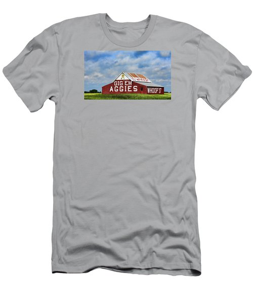 Aggie Nation Barn Men's T-Shirt (Athletic Fit)