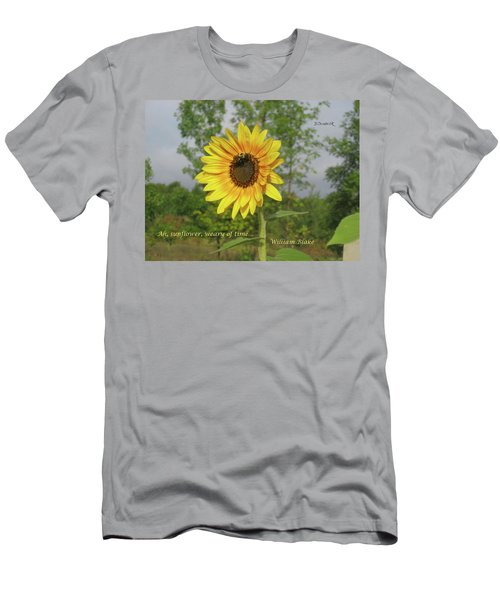 Ah, Sunflower Men's T-Shirt (Athletic Fit)