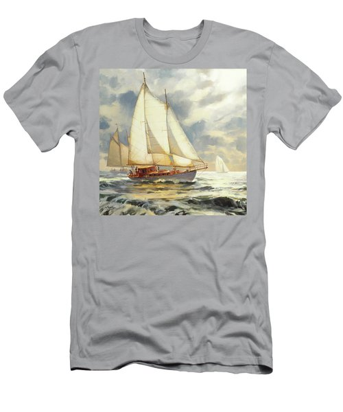Ahead Of The Storm Men's T-Shirt (Athletic Fit)