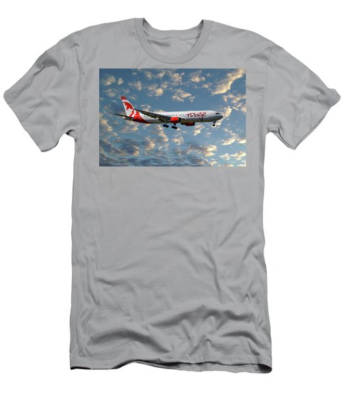 Air Canada Rouge Boeing 767-35h 119 Men's T-Shirt (Athletic Fit)