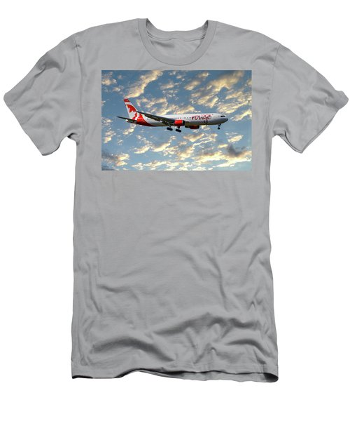 Air Canada Rouge Boeing 767-35h 120 Men's T-Shirt (Athletic Fit)