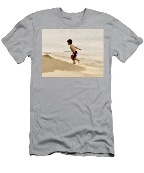 Airplane Boy Men's T-Shirt (Athletic Fit)