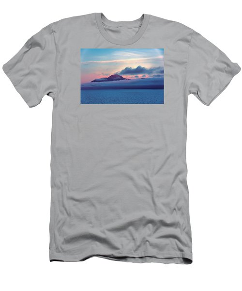 Men's T-Shirt (Slim Fit) featuring the photograph Alaska Dawn by Lewis Mann