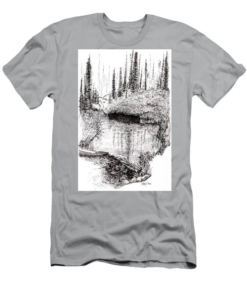 Alaska Pond Men's T-Shirt (Athletic Fit)