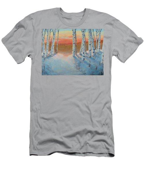 Alaskan Road Men's T-Shirt (Athletic Fit)