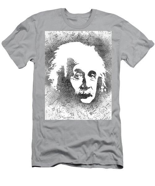 Albert Einstein Bw  Men's T-Shirt (Athletic Fit)