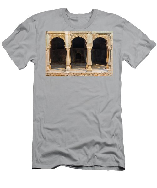 Alcoves At Chand Baori Stepwell Men's T-Shirt (Athletic Fit)