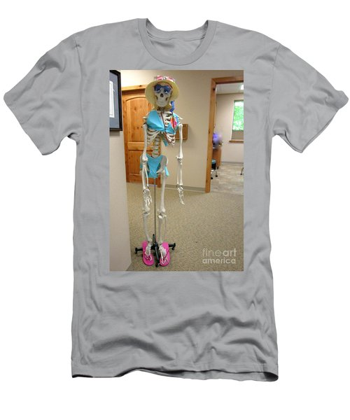 Men's T-Shirt (Athletic Fit) featuring the photograph Alien Beyond The Door by Marie Neder