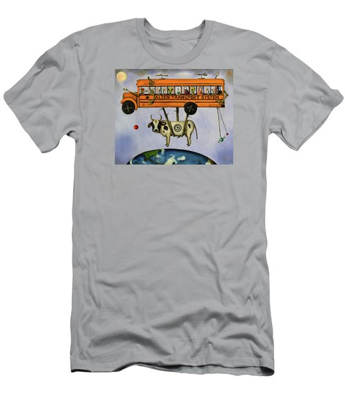 Alien Transport System Men's T-Shirt (Athletic Fit)