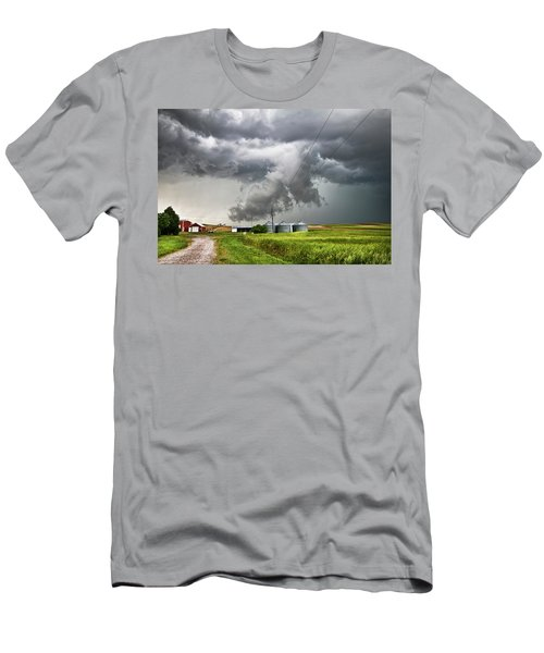 Alive Sky In Wyoming Men's T-Shirt (Athletic Fit)