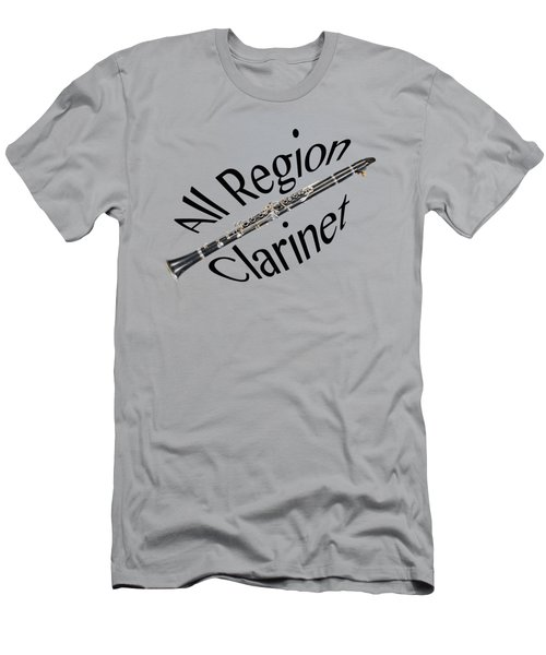 All Region Clarinet Men's T-Shirt (Athletic Fit)