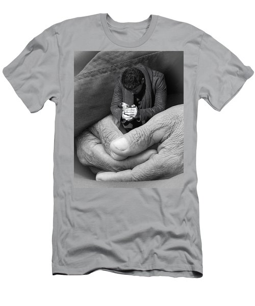 All That Is Precious Men's T-Shirt (Slim Fit) by I'ina Van Lawick