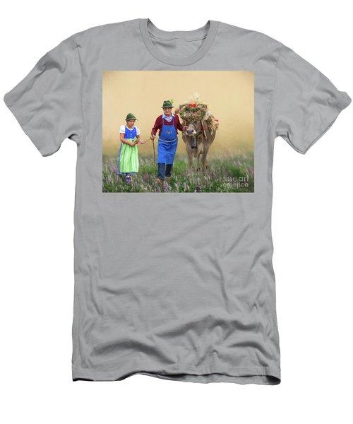 Almabtrieb Men's T-Shirt (Athletic Fit)