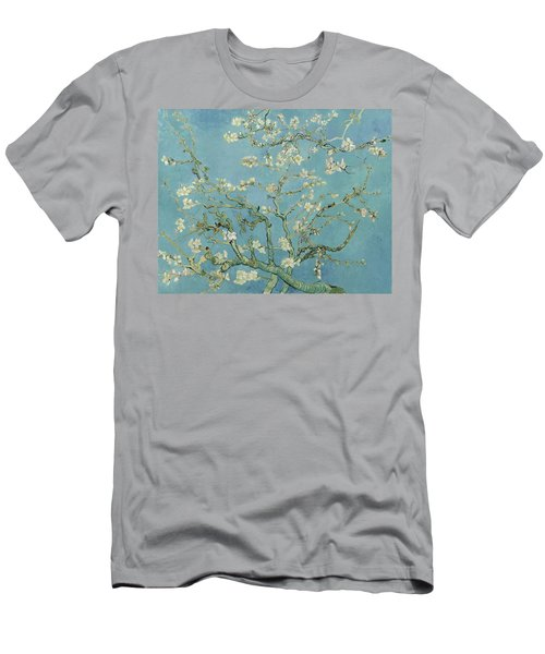Almond Blossom Men's T-Shirt (Athletic Fit)