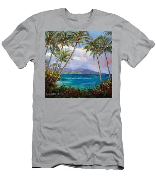 Aloha! Just Dreaming About #hawaii Men's T-Shirt (Athletic Fit)