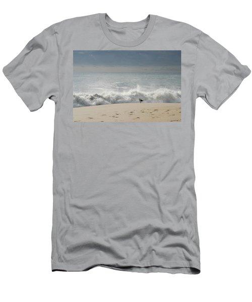 Alone - Jersey Shore Men's T-Shirt (Athletic Fit)