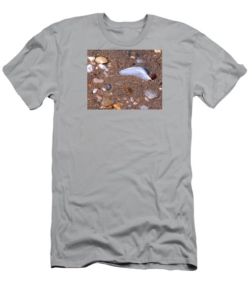 Men's T-Shirt (Slim Fit) featuring the photograph Alone Among Strangers by Lynda Lehmann