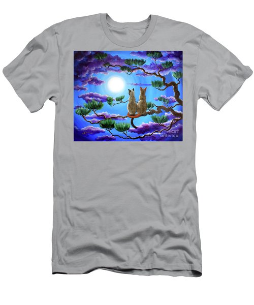 Alone In The Treetops Men's T-Shirt (Athletic Fit)