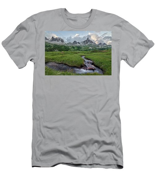 Alps In The Afternoon Men's T-Shirt (Athletic Fit)