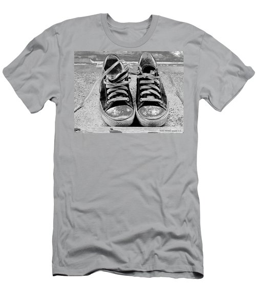 Old Sneakers. Men's T-Shirt (Slim Fit) by Don Pedro De Gracia