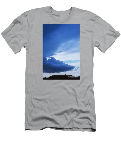 Amazing Blue Sky Vertical Men's T-Shirt (Athletic Fit)