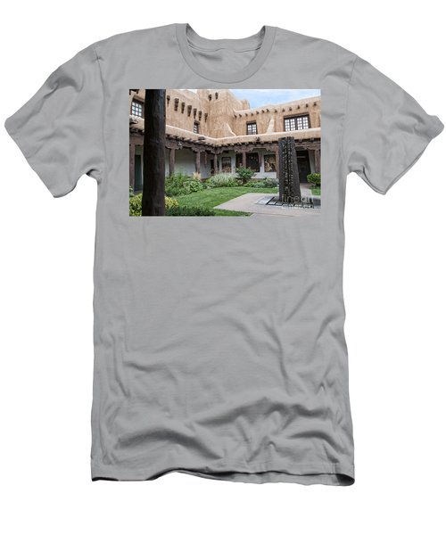 Amazing  Santa Fe Adobe  Men's T-Shirt (Athletic Fit)