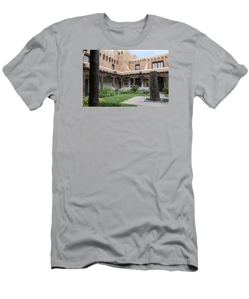Amazing  Santa Fe Adobe  Men's T-Shirt (Athletic Fit)