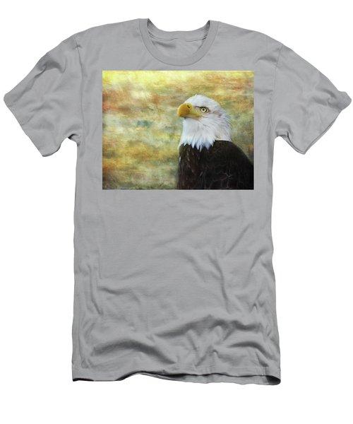 American Bald Eagle At Sunrise Men's T-Shirt (Athletic Fit)