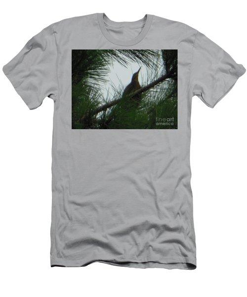 American Bitten Bird Men's T-Shirt (Athletic Fit)