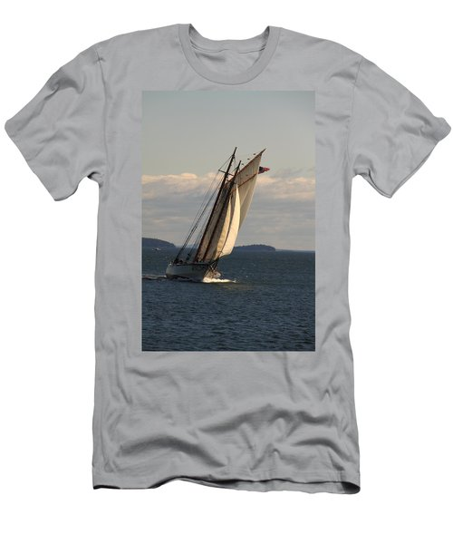 American Eagle In A Good Wind Men's T-Shirt (Athletic Fit)