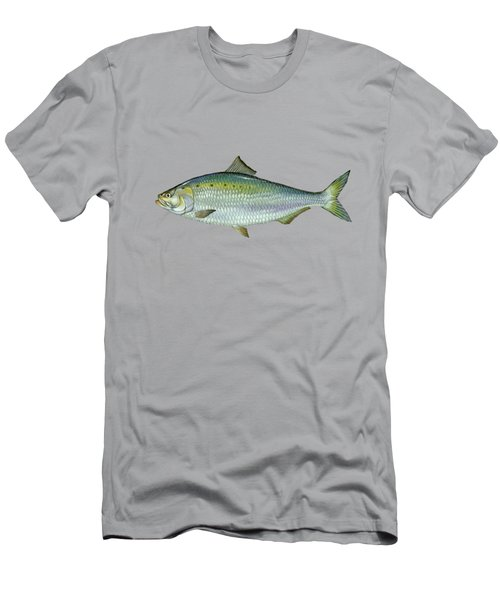 American Shad Blue Lagoon  Men's T-Shirt (Athletic Fit)