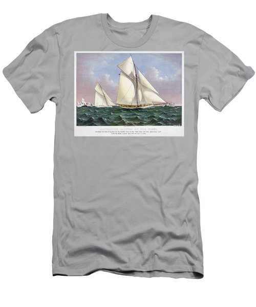 Americas Cup, 1886 Men's T-Shirt (Athletic Fit)