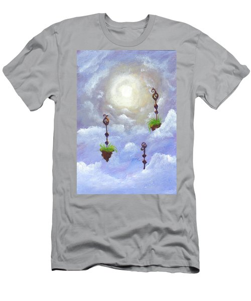 Among The Clouds Men's T-Shirt (Athletic Fit)