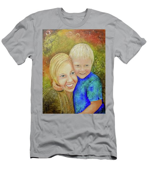 Amy's Kids Men's T-Shirt (Slim Fit) by Terry Honstead