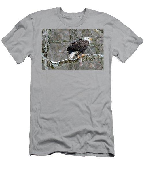 An Eagles Catch Men's T-Shirt (Slim Fit) by Brook Burling