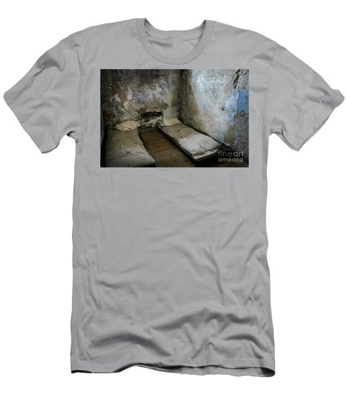 Men's T-Shirt (Slim Fit) featuring the photograph An Empty Cell In Cork City Gaol by RicardMN Photography