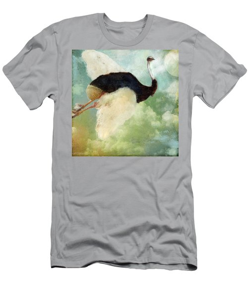 Anastasia's Ostrich Men's T-Shirt (Athletic Fit)