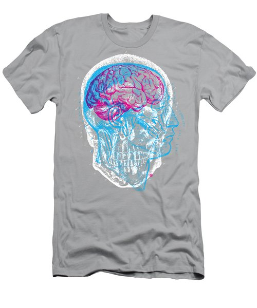 Anatomy Skull Men's T-Shirt (Athletic Fit)