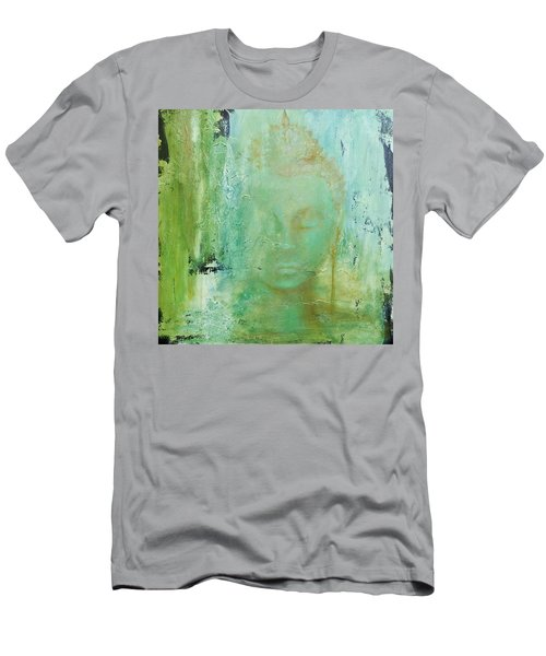 Ancient Buddha Men's T-Shirt (Slim Fit) by Dina Dargo