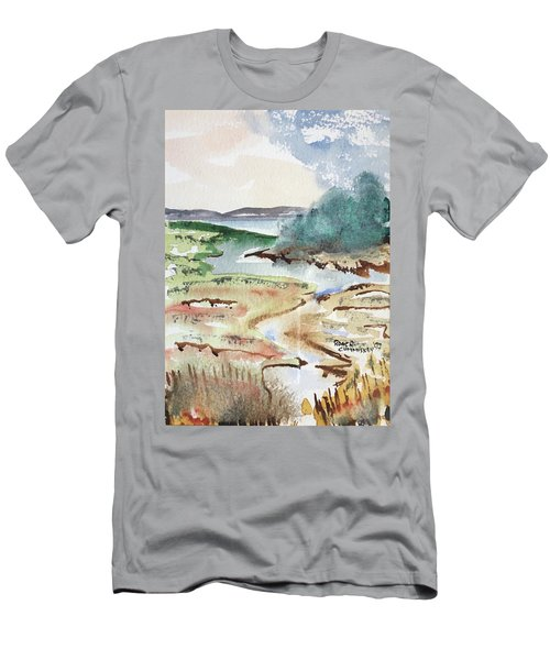 And Still Runs The River Men's T-Shirt (Athletic Fit)
