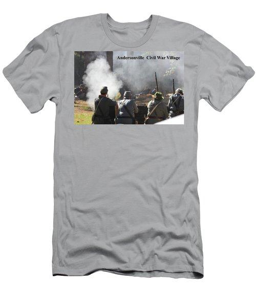 Andersonville Civil War Village Men's T-Shirt (Athletic Fit)
