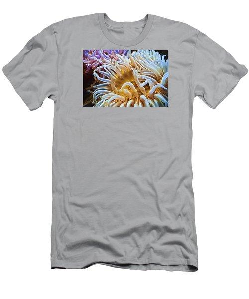 Anemone Flower Men's T-Shirt (Athletic Fit)