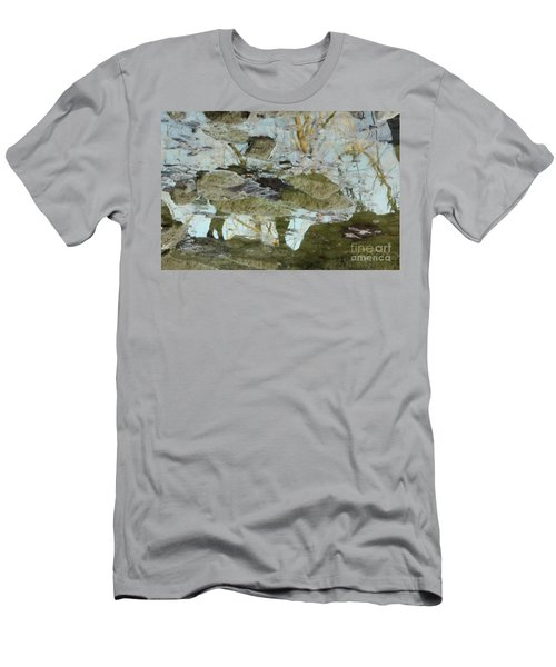 Angel Disguised As Coyote Men's T-Shirt (Athletic Fit)