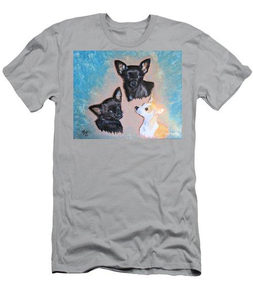 Angel Lilsister Bosco Men's T-Shirt (Slim Fit) by Maris Sherwood