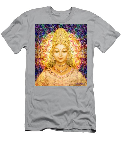 Angel Of Beauty In Blue Men's T-Shirt (Athletic Fit)