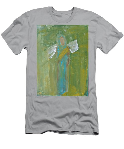 Angel Praise And Worship Men's T-Shirt (Athletic Fit)