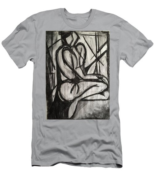 Angled Repose Men's T-Shirt (Athletic Fit)